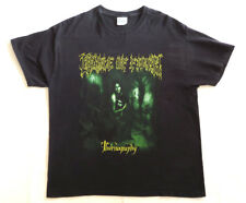 CRADLE OF FILTH Vintage T Shirt CONCERT 2007 Tournography America TOUR Dates XL
