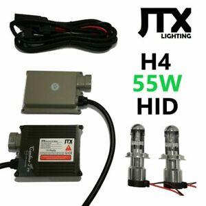 H4 HID Hi & HID Lo Kit 55W for Nissan X Trail XTrail Pathfinder Maxima Micra