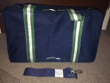 Rare! Brand New! Homme LACOSTE parfum Gym/week-end/voyage/école/Holdall Sac!