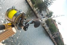 New Shimano Tyrnos 20II 2 Speed Reel w/ CHAOS ECL 30-50 Stand-up Rod COMBO