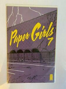 PAPER GIRLS #7 (2015) IMAGE COMICS 1ST PRINT NM Optioned
