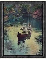 Dangerous Work at Low Tide by Eric Revilious Sea Sailors Water 8x10 Print 2428