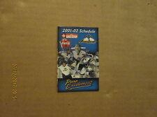 USHL Sioux Falls Stampede Vintage Circa 2001-02 Hockey Pocket Schedule