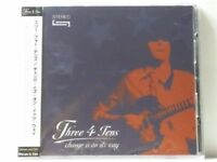 THE THREE 4 TENS-CHANGE IS ON IT'S WAY-JAPAN CD F04