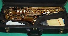 Saxophone Alto Eb + Fa # 475 style gold la laque A NEW ORLEANS ® Free DVD + REEDS 10 pcs