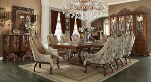 BRAND NEW HOMEY DESIGN HD-124 12PC DINING SET DINING TABLE BUFFET CHINA