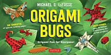 Origami Bugs Kit: Origami Fun for Everyone! by Michael G. LaFosse | Hardcover Bo