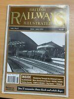 "JUNE-JULY 1992 ""BRITISH RAILWAYS ILLUSTRATED"" VOL 1 #5 MAGAZINE (LL)"