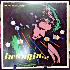 DAVE EDMUNDS Twangin' Album Released 1981 Vinyl/Record  Collection US pressed