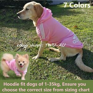 Dog Hoodie dog warm Jumper dog winter Clothes pet hoodie fit from 1- 35KG