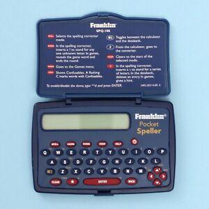 Franklin SPQ-108 Pocket Speller (Blue)