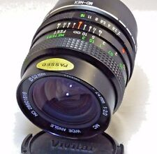 Vivitar 24mm f2.0 Manual Focus Lens adapted to SONY E cameras NEX ILCE 5R T N 7R