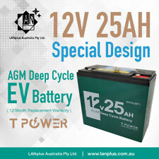 NEW 12V 25AH AGM Deep Cycle for SLA Battery Scooter Golf Buggy JetSki Lawn Mower