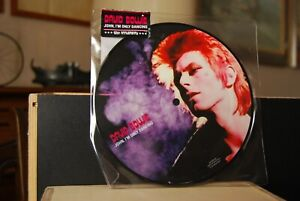 """DAVID  BOWIE """" Johm, I'm only dancing """" Picture Disc UK 2012"""