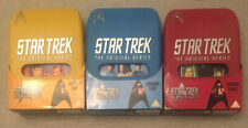 Star Trek The Original Series 1 2 3 DVD Box Sets VGC!