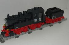 Lego 12v ferrocarril Train 7750 máquina de vapor + accesorios Engine steam train