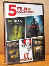5 Film Collection: Harrowing Horror (DVD, 2019, 2-Disc) NEW It Exorcist Hidden