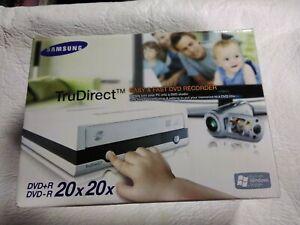 Samsung TruDirect Easy & Fast DVD Recorder