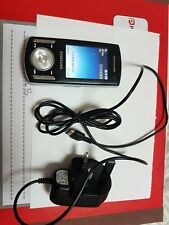 Samsung SGH F400 - Ebony Black Mobile Phone