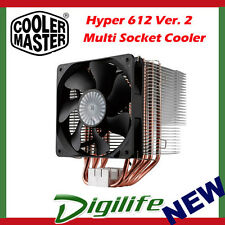 Cooler Master Hyper 612 ver2 X-Vent CDC Design PWM CPU Cooler Coolermaster