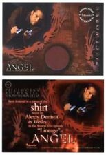 2004 ALEXIS DENSINOF  ANGEL SEASON 5 PIECEWORKS CARD # PW-4