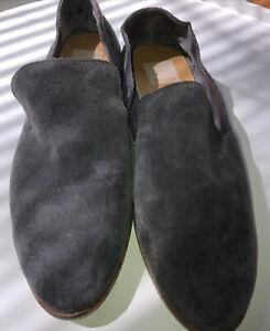 Dolce Vita Women's Sz 10 Slip On Loafers Flats Gray Suede Carla