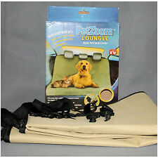 Heavy Duty Water Resistant Car Rear Seat Protector Pet Cover