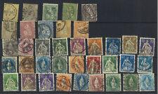 Suisse - Très joli lot de timbres anciens - VOIR SCAN