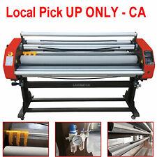 Pick Up 110v 1630mm 64 Automatic Hot Cold Roll Laminator Pneumatic 0 30mmin