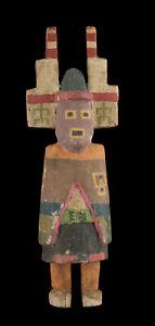 Antique Large Doll Hopi Style Kachina Katsina Native American 9 13/16in F
