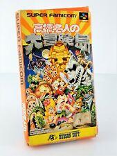 Super Adventure Island - Jeu Nintendo Super Famicom JAP Japan complet