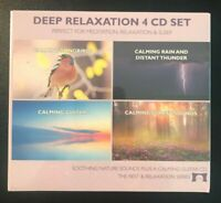 Deep Relaxation Nature Sounds 4 CD Set - for Meditation, Relaxation and Sleep