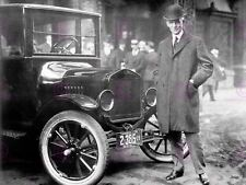 VINTAGE PHOTOGRAPH MAGNATE HENRY FORD CAR TYCOON POSTER ART PRINT LV11331