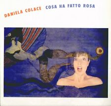 "DANIELA COLACE "" COSA  HA FATTO ROSA "" LP SIGILLATO  IT - RCA 1992"