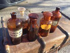 RAR! Konvolut, alte Apotheke Glas Apothekerflasche Apothekenglas Flasche Labor