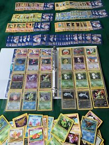 Pokemon Card Collection Lot Binder NEO Wotc Holos 30+ 1st Editions Lots More