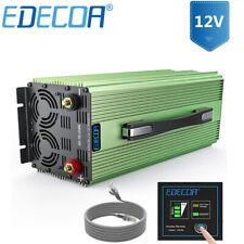 Car Power Inverter 12V dc to 110V ac Solar Converter 3000W 6000W EDECOA