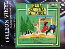 Hans Christian Andersen Emperor's New Clothes LP Album TMP9008 'Orange Vinyl'
