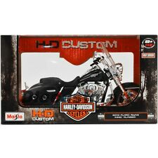 2013 HARLEY DAVIDSON FLHRC ROAD KING CLASSIC BLACK 1:12 BY MAISTO 32322 CRUISER