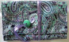 Tarot Bag Pouch Handmade Fits a Typical Tarot Deck Paisley Ribbon Bead Tie New