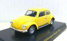1/64 Kyosho VW VOLKSWAGEN BEETLE 1303 YELLOW diecast car model