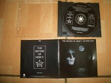 """The Sister of Mercy """" Floodland """" CD"""