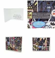 NEW DISNEY STAR WARS COMIC STRIP MULTI SLOT CARD HOLDER WALLET GIFTS