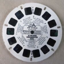 Vintage Talking Viewmaster - Gaf Single Reel Birds Of The World Reel 1 AVB 6781