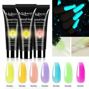 Colorful 15ml Nail Extension Gel Poly Nail Gel for Nail Art Manicure Acrylic