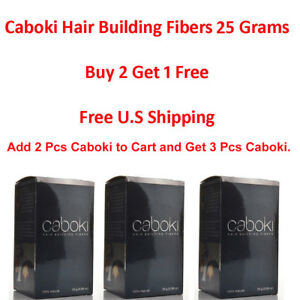 Caboki Hair Building Fibers 25G Hair Loss Concealer U.S SELLER ( BUY 2 GET 1 )