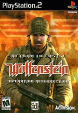 Return to Castle Wolfenstein: Operation Resurrection - PS2 Game Complete