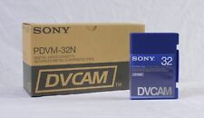 Box of 10 New Sony DVCAM PDV-32N  Video Cassette