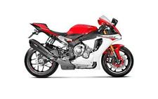 Akrapovic Road Legal Carbon Exhaust Slip On End Can Yamaha R1 R1M 2015 -2017