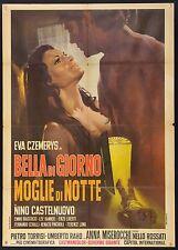 MANIFESTO, BELLA DI GIORNO MOGLIE DI NOTTE-WIFE BY NIGHT, CZEMERYS, SEXY POSTER